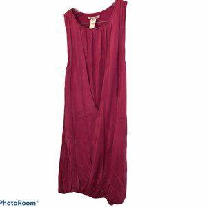 alice + olivia hot pink Silk Greek Goddess dress S
